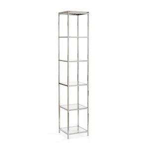 White 16-Inch Langdon Shelf Unit