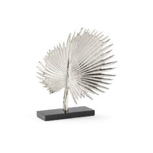 Silver 14-Inch Fan Palm