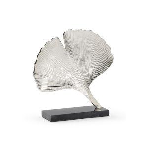 Silver 14-Inch Ginkgo
