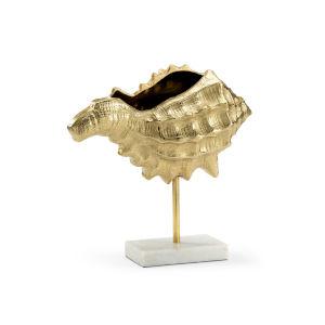 Gold 18-Inch Conch