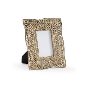 Gold 8-Inch 3 x 5-Inch Zuma Photo Frame