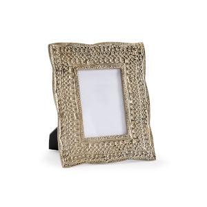 Gold 9-Inch 4 x 6-Inch Zuma Photo Frame