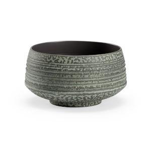 Gray 11-Inch Amoeba Bowl