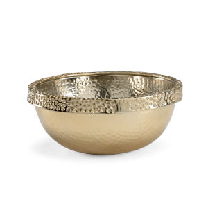 Gold 16-Inch Small Moon Bowl