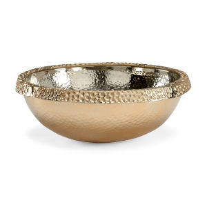 Gold 20-Inch Large Moon Bowl