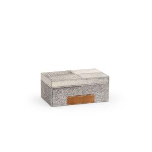 Gray 11-Inch Hair on Hide Box