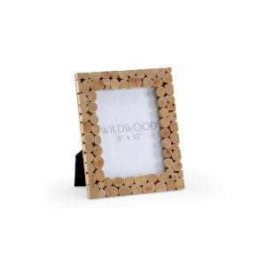 Brown 11-Inch 8 x 10-Inch Caribon Chalet Frame