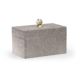 Gray 12-Inch Hyde Lodge Box