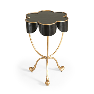 Black Seville Accent Table