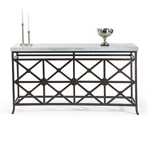 Matthew Frederick Bronze Eton Manor Sofa Table