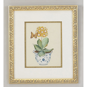 Yellow Auricula Painting
