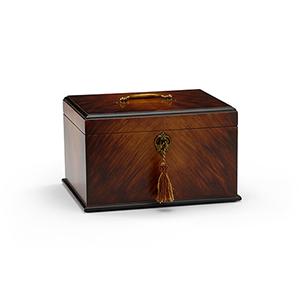 Brass George II Tea Caddy Box