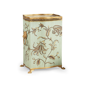 Green Brighton Wastebasket