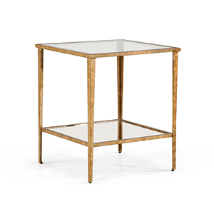Gold Carson End Table