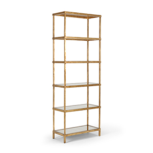 Gold Etagere