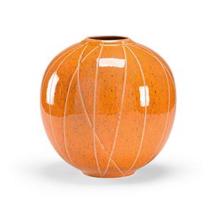 Orange Anderson Vase