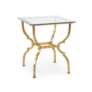 Gold Norwich Side Table