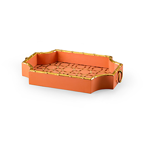Bradshaw Orrell Orange Bamboo Tray