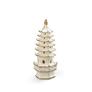 Gold Small Pagoda Décor