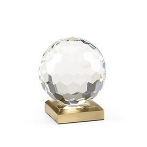 Lisa Kahn Crystal Ball Accent- Small