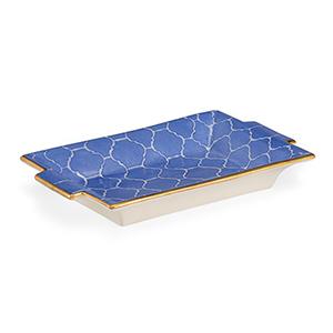Pam Cain Blue Tray