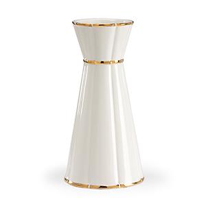 Bradshaw Orrell Off White Tull Ring Vase