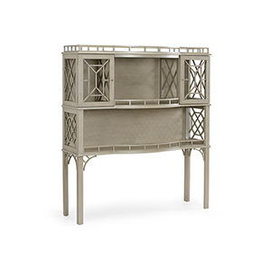 Bradshaw Orrell Gray Fretted Cabinet