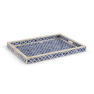 Blue Newton Tray