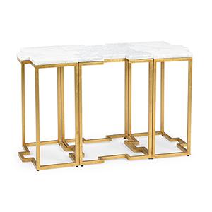 Jamie Merida Gold Trio Tables