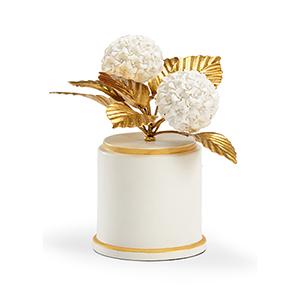 Bradshaw Orrell Cream Hydrangea Figurine