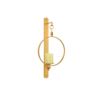 Marie Galloway Gold Leggit Sconce