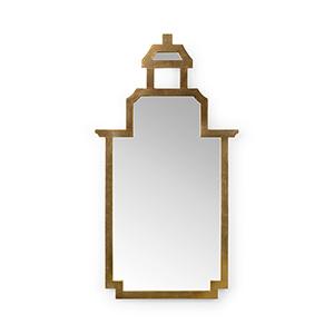 Jamie Merida Gold Pagoda Mirror