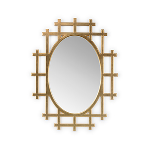 Jamie Merida Gold Orangerie Mirror
