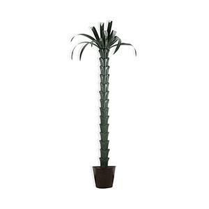 Green Palm Tree Sculpture