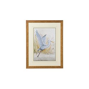 Gold Heron Sanctuary I Print