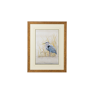 Gold Heron Sanctuary II Print