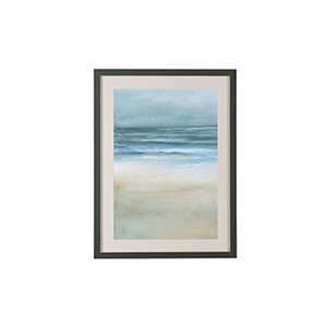 Charcoal Tranquil Sea I Print