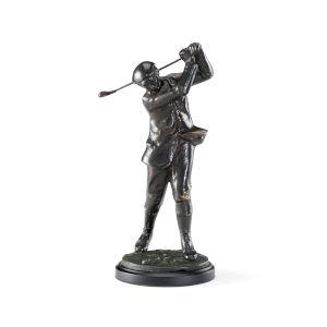 Dark Gray 2-Inch Classic Golfer