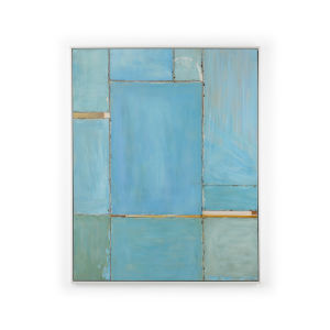 Blue 50-Inch Mood Painting