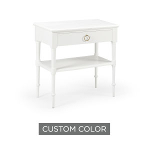 White 27-Inch Nightstand