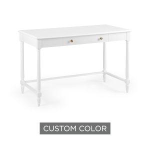 White 48-Inch Retreat Desk