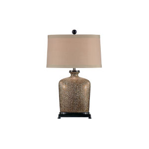 Tan One-Light 12-Inch Bradford Lamp