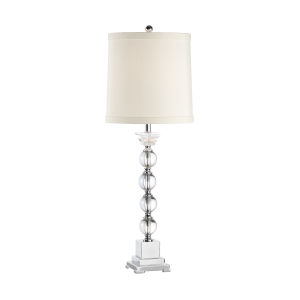 Silver One-Light 7-Inch Alexis Lamp