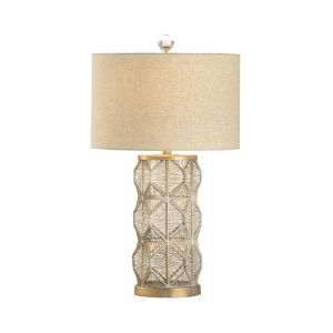 Gold One-Light 8-Inch Dabney Lamp
