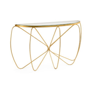 Gold 59-Inch Jennings Console Table