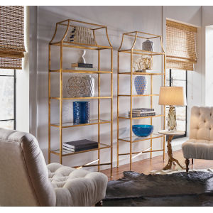 Gold 32-Inch Clancy Etagere