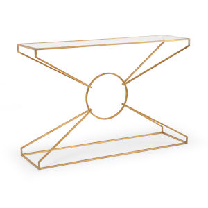 Gold 50-Inch Emery Console Table