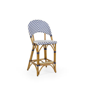 Blue 18-Inch Bedford Counterstool
