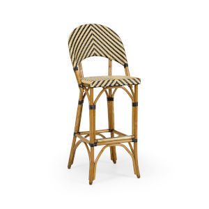 Brown 18-Inch Bedford Barstool