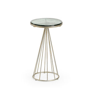 Silver 11-Inch Bubble Table